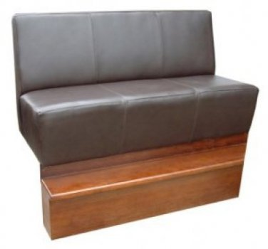 High Panel Seating With Step