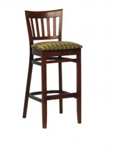 Houston High Stool with Back